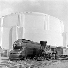 Railroad show at 1939 World's Fair.