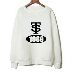 Taylor Swift 1989 sweatshirt TS white crewneck sweatshirts