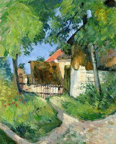 Paul Cézanne, Entrance to the Farm, Rue Remy in Auvers-sur-Oise, 1873