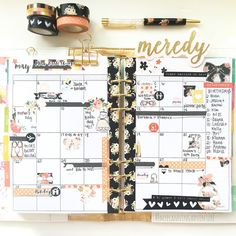 I hardly ever do monthly layouts and I've been missing out. It was nice to sit down and block out all the great things happening this month. I may even remember before my husband says he's getting on a plane the next day by myplanningadventure Mini Happy Planner, Cute Planner, Planner Layout, Goals Planner, Planner Ideas, Tracker Mood, Planners, Planner Decorating, Planner Organization
