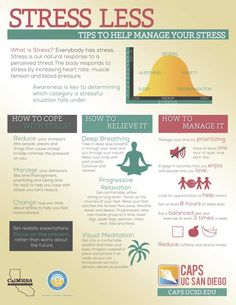 Tips to STRESS LESS!