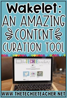 Wakelet is an AMAZING content curation tech tool for teachers and students. There are many different ways educators have brought this tool into their classrooms! Visually organize links, videos, social media posts and so much more. Students are even using Educational Websites, Educational Activities, Educational Technology, Social Media Automation, Social Media Analytics, Marketing Automation, Teaching Tools, Teacher Resources, Tips Instagram