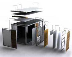 Containere birou corect izolate produse de Estpoint, despre containere ieftine si calitatea containerelor birou produse pe piata din Romania.