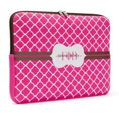 $22.00 Gamma Phi Beta Laptop Sleeve #gphib #gammaphi #gammaphibeta #sorority