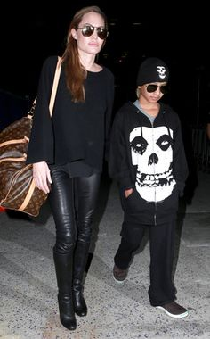 Angelina Jolie  maddox. This is the coolest celebrity kid! Too cute! :)