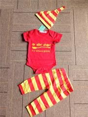 The only place to buy Harry Potter merchandise at a fraction of the cost, Got a die-hard fan? Baby Boy Romper, Baby Girl Newborn, Infant Girls, Toddler Outfits, Boy Outfits, Baby Boy Clothing Sets, Girl Clothing, Long Sleeve Romper, Outfit Sets