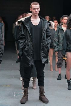 This Kayne West for Adidas outerwear is outrageously cool in the Real World.