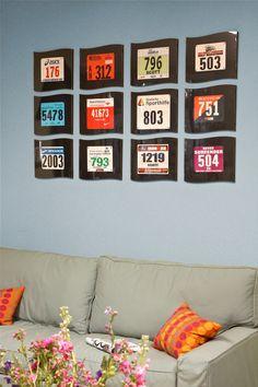 Marathon bib frame http://www.racerusa.com/