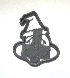 grinc cookie cutter made out of plastic with thicker by LONGBOY69