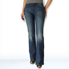 Also awesome jeans. My 2nd choice after Loft. – Levi's Demi Curve ID Bootcut Jeans