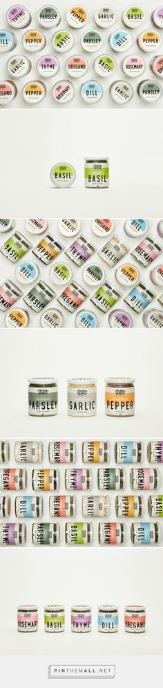 Supergarden Freeze-Dried Spices packaging design by Étiquette - http://www.packagingoftheworld.com/2017/11/supergarden-freeze-dried-spices.html