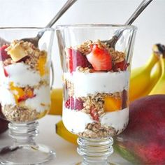 """Yogurt Parfait 