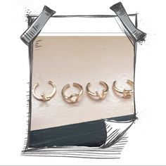 5 ⭐️ RATING LOVE RING SET. L O V E RING SET GOLD TONE.     📫 SAME/NEXT DAY SHIPPING  🚭 SMOKE FREE  🐶 PET FRIENDLY 💎 BOUTIQUE ITEMS MAY NOT HAVE TAGS 🔱 NO TRADES 👗 NO MODELING 🌹 REALISTIC OFFERS WELCOME  📦 ANY BUNDLES OF 10 OR MORE, SUBMIT OFFER FOR 50% OFF Jewelry Rings