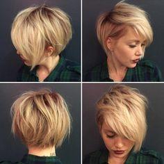 10. Chaotisch, Shaggy Frisur für Kurze Haare