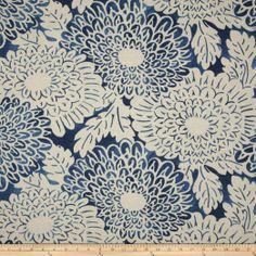 Amazon.com: Home Accents Imari Slub Indigo Fabric: Arts, Crafts & Sewing