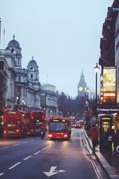 london at dusk. #london