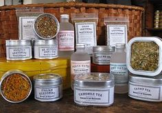 Sabbathday Lake Shakers ~ CULINARY HERBS, HERBAL BLENDS, TEA, FLAVORED WATER, & SPICES ~ Order online directly from the United Society of Shakers in Maine