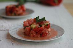Tartar de salmón - fithappysisters