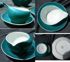 Fabulous Retro Cmielow Polish Porcelain Space Age Tea Set
