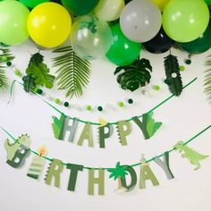 Our banners are made from high quality, sturdy paper and are the perfect addition to your Birthday Celebrations! Birthday Bunting, Happy Birthday Banners, Dinosaur Birthday, Boy Birthday, Jungle Party Decorations, Dinosaur Balloons, Dinosaur Party Supplies, Happy Birthday Parties, Bunting Garland