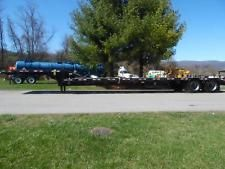 1987 48' FREUHAUF  SPRING RIDE STEP DECK EQUIPMENT HAULER