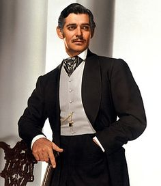 Rhett Butler... has there ever been a better male lead? This is a serious question, if there is, please let me know... television film music books