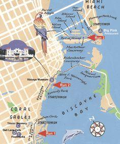 Miami Tourist Map @taycaro @Samantha @This Home Sweet Home Blog @AbdulAziz Bukhamseen Home Sweet Home Blog Dupaya