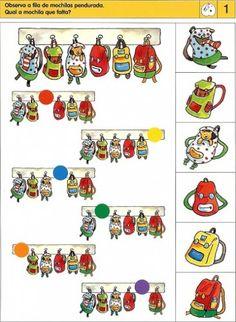 Teaching Kindergarten, Fun Math, Preschool Activities, Visual Perception Activities, Brain Activities, Sequencing Cards, File Folder Activities, Autism Classroom, Literacy Skills
