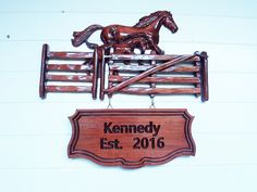 WOOD WALL ART Signs  Personalized Family by TheWoodGrainGallery