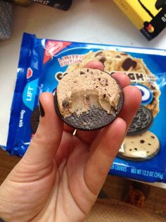 As you may know, Oreo just released a new limited-edition cookie dough flavor. It looks like this.