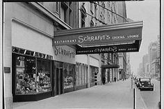 While Schrafft's opened a candy store in 1898 in a spot now occupied by Macy's, the first full-fledged Schrafft's restaurant in New York City opened in 1919 at 48 Broad Street. Source: New York Times, -Gottscho-Schleisner Boston Area, In Boston, Boston Beans, Boston Pictures, Howard Johnson's, Restaurant New York, Massachusetts, 6 Years, New England