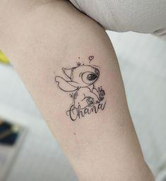 """#kubanoink @kubanoink 'OHANA' quer dizer família e família quer dizer nunca abandonar"""". ✨ Quem aqui já assistiu Lilo & Stitch e nunca se apaixonou pelo Stitch? •… @kubanoink #kubanoink #tattoo #tattooart #tattooideas"""
