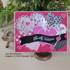 Send A Card, Thank You Cards, Valentine Cards, Valentines, Postage Stamps, Your Cards, Make Me Smile, Something To Do, Stampin Up