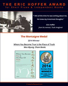 Maum Meditation Lynnwood: 2014 The Eric Hoffer Award Winner (Montaigne Medal...