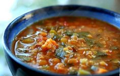 """Lentil and Veggie Soup - For all you """"vegan lovers"""" I have a very delicious recipe that I tried myself and it is easy to prepare, healthy and I hope that you will enjoy it as much as I did."""
