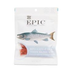 EPIC understands that salmon is one of the most reliable sources of nutritious protein, fat, and fresh-from-the-sea flavor. Made with wild-caught Alaskan salmon from the famous Bristol Bay region, EPIC's Salmon with Maple and Dill Bites are loaded with 9 Glazed Salmon, Smoked Salmon, Best Pork Crackling, Healthy Groceries, Maple Glaze, Paleo Diet, Packaging Design, Food Packaging, Kids Meals