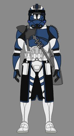 Assault Trooper 6196 Asher by Star Wars Font, Star Wars Rpg, Star Wars Clone Wars, Star Wars Pictures, Star Wars Images, Star Wars Concept Art, Star Wars Fan Art, Cuadros Star Wars, 501st Legion