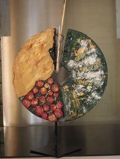 Vase ethnique contemporain (polyester - powertex - stone art). Martine B. B. Martine B. B.