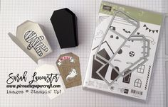 Home Sweet Home Coffin Shaped Treat Box Stampin' Up!