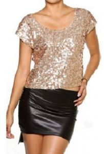 Great to pair with skirt, jeans, or even shorts! Sequin Top, Festival Fashion, Leather Skirt, Super Cute, Sequins, Pairs, Holidays, Shorts, My Style