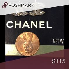 New 10k gold Chanel real gold earrings Brand new real gold Chanel earrings CHANEL Jewelry Earrings