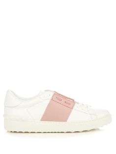 Colour-block low-top leather trainers | Valentino | MATCHESFASHION.COM