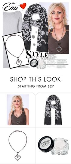 """""""Emi-Jewellery & Accessories"""" by gaby-mil ❤ liked on Polyvore featuring Karen Millen, MAKE UP FOR EVER, jewellery, accessories, shop and emi"""