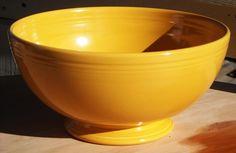 Fiestaware Giant Yellow Fruit or Salad Bowl