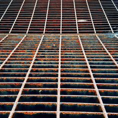 Rust lines. Photo by Noëmie Forget  #texture #lines #rust #minimal #minimalist #minimalism