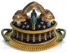 Majolica.  I love this!!