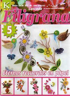 REVISTAS DE MANUALIDADES GRATIS: Filigrana
