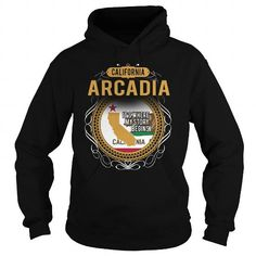 Cool  ARCADIA CALIFORNIA T-Shirts