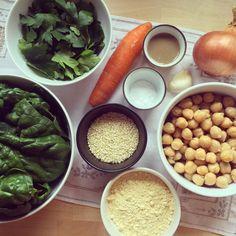 Falafels aux légumes au four Carottes épinards