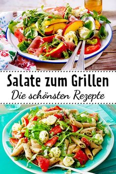 Neben all den Köstlichkeiten, die wir auf dem Rost zubereiten, dürfen die passenden Begleiter zu Würstchen und Co. natürlich nicht fehlen. Wir empfehlen leckere #Salate zum #Grillen.